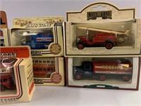 Lot-Lledo and Corgi Collector Showcase Trucks