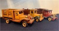 Excellent Wooden Model Cars-Lot