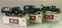Number 1-2-3 BA 1:34 Scale Die Cast Trucks
