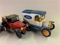 Retro Die Cast Banks and Trucks