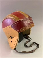Early Varsity Football Head Gear-Great Original Pi