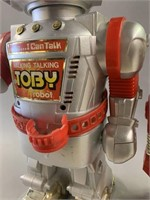 Pair Magic Mike and Toby Toy Robots