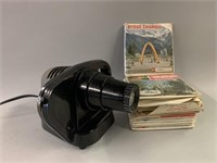 Retro View Master and Many Slides