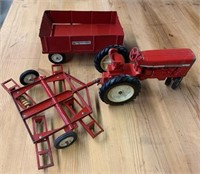 International Die Cast Tractor and Disc