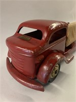 Early Ellwood Toy (Windsor Ont) Tin Firetruck