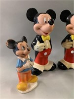 Mickey Mouse Collectable Figures