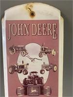 John Deere 100 Year Advertising Thermometer