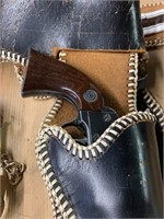 Excellent Daisy Six Shooter-Toy Holster-Boot Strap