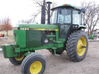 John Deere 4250 Auction Results 21 Listings Auctiontime Com Page 1 Of 1