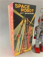 Rare Original Key Wound Space Robot
