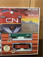 Bauchmann HO Scale Toy Train Set-Boxed