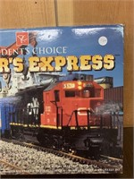 Insiders Express HO Scale Toy Train Set-Boxed