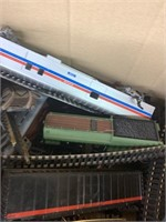 HO Scale Toy Train Parts-Cars and Track Etc.