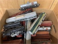 Early American Flyer Toy Trains Etc.