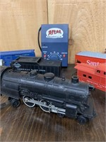 Early Train Cars-Locomotives and Atlas Power Suppl