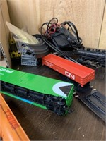 Toy Train Car Lot-Many Pieces HO Scale