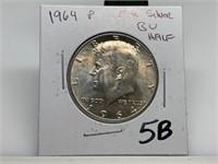1964 SILVER JFK HALF DOLLAR