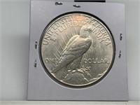 1926 PEACE SILVER DOLLAR COIN