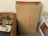NEW WINE RACK IN THE BOX