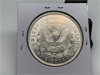 1921 MORGAN SILVER DOLLAR GORGEOUS COIN