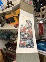 SCROLL TYPE HANGING CHINESE ART