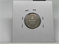 1854-O W ARROWS SEATED LIBERTY SILVER DIME