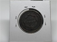 1841 LARGE CENT COIN