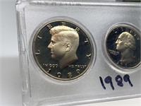 1989 PROOF COIN SET