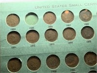 NICE BOOK OF SMALL CENTS 31 COINS