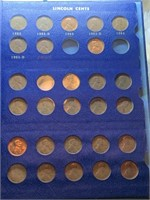 BOOK OF LINCOLN CENTS
