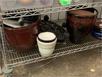 LARGE LOT OF PLANTERS