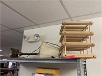 WINE RACK / TABLE LAMP