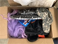 LOT OF COSTUMES AND TOYS MORE