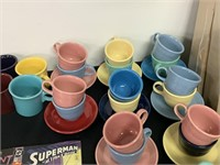 HUGE LOT OF FIESTA DISHES