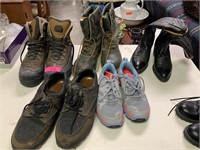 LARGE LOT OF MENS BOOTS / SHOES 9D