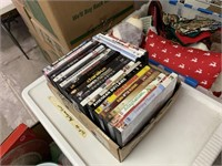 LARGE LOT OF MISC CHRISTMAS / DVDS MORE