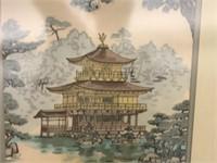 GOLDEN PALACE KYOTO FRAMED PRINT
