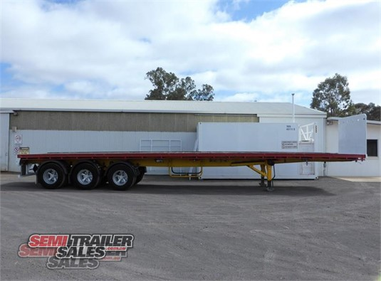 1987 Krueger Flat Top Trailer Semi Trailer Sales  - Trailers for Sale