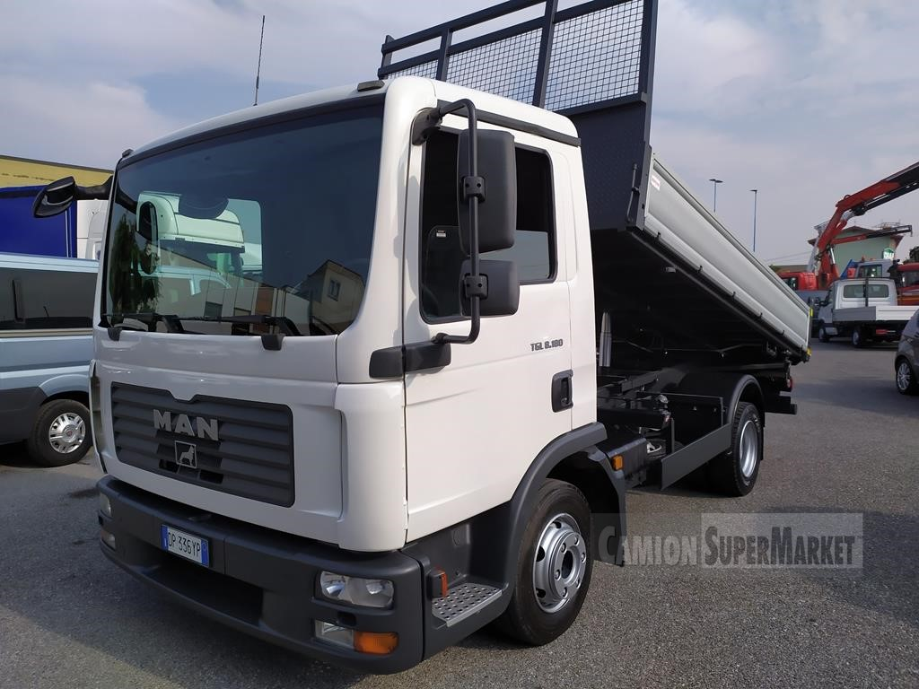 MAN TGL8.180 used 2008 Lombardia