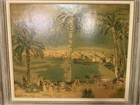 FRAMED RAOUL DUFY PRINT ON BOARD