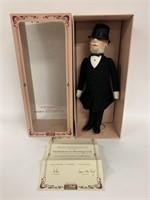 Steiff gentlemen in morning coat in original box