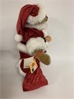 Steiff Santa in box