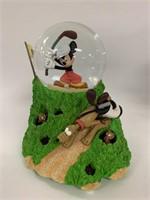 2 Disney musical snow globes