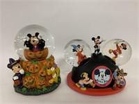 To Disney snow globes