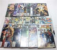 COMICBOOK LOT, DC COMICS, JUSTICE LEAGUE & WHO'S