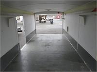 "(DMV) 2003 Haulmark Snowmobile 100"" x 25' Enclosed"