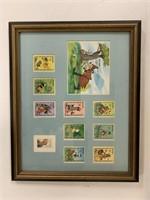 Lot of 3 Disney framed pieces