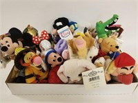 Disney Bean Bag Plush lot