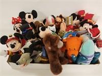 Disney Bean Bag Plush lot