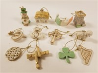 Lenox Luck of the Irish 12 ornament set